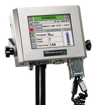 Videojet 2120 大字符纸箱喷码机